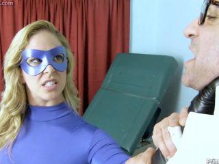 Movie title Superheroine humiliated