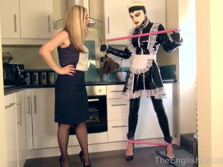 TheEnglishMansion - Mistress Sidonia - Tethered Sissy Maid!!!