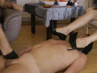 diaper femdom fetish porn | 1-HOUR long FOOT GODDESS LEYLA — TheTorturedWankerFullVersion — Goddess Leyla, Lady Nadja | face under foot