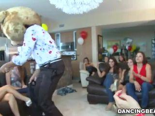 Dancing bear he party