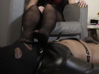 Helenas Cock Quest: Helena Price Slave Training Stockings And Feet on femdom porn stinky feet fetish
