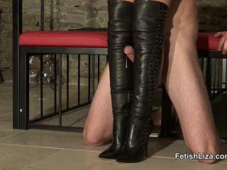 yuri femdom femdom porn |  Fetish Liza – Casadei boot fucking slave part 2 (MP4, HD, 1280×720) | femdom