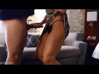 Fit 30sthing hotwife milf fucks toyboyer lover