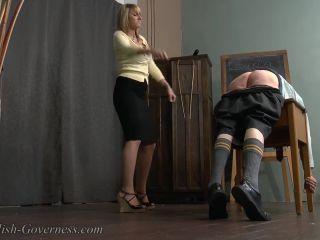 Miss Carter loves flexing her cane