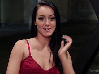 Sabrina Banks Assessment Day - role play - bdsm porn femdom lingerie