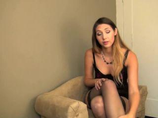 princess lexie - the jerk-off addict test