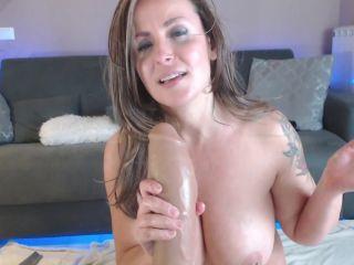 Bad dragon dildo ruined sweet anal hole with kinky MILF