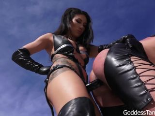 [Femdom 2018] Goddess Tangent World of Femdom  Outdoor Brutality-Whipping And Ruthless But Fucking [Ass Fucking, Dildo Fucking, Anal, Anus, Ass, Dildo, Pegging, Strap-On, Strap on]