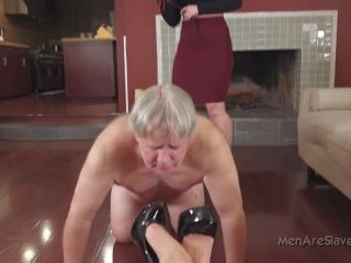 menareslaves  why aren't you mooing?  femdom spanking