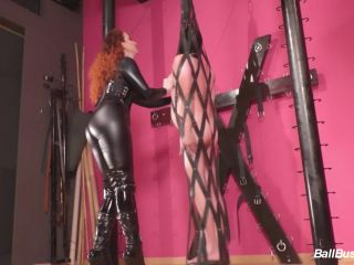 Online Fetish video Leather Cage – Mistress Lady Renee – Caught hanging around