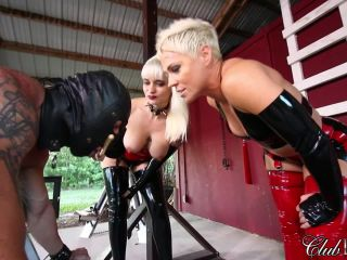 Domina with slave