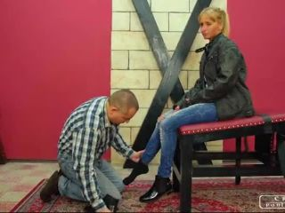 CRUEL PUNISHMENTS  SEVERE FEMDOM  Gentle foot worship. Starring Lady Syla