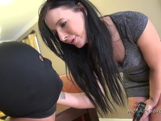 MenAreSlaves – Suffer For Princess Ashli (1080 HD) – Ballshocker – Annilingus, Female Domination, big ass anal squirting on lesbian
