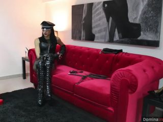 Bdsm – DOMINA IRA VON MESMER – Chastity and Crop Strokes I