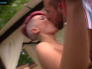 Sexy punk anky rose sucks