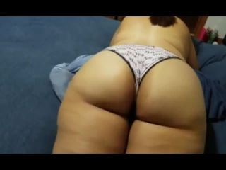 Young Thick Teen Shows off her Amazing Big Ass for Me.