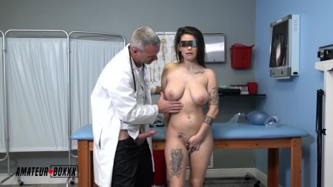 Indica Flower - Dr Gives fake Breast Exam, Mesmerizes Patient [UltraHD/4K 2160P]