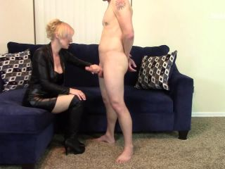 All Leather Worn for Sitting Blow Job Handjob Combo to Blow Job on Knees Until Cumshot – Amateur Clips By Sexy Fantasies – Brittany Lynn