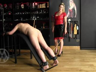 Mistress Whiplash – WL1391 – 72 Cane Strokes From Latex Mistress (1080 HD) – Caning