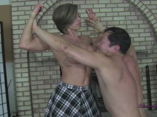 Rapture's Fetish Playground — Rapture — Strong Man's Secret Weapon - strong women - femdom porn mom feet fetish