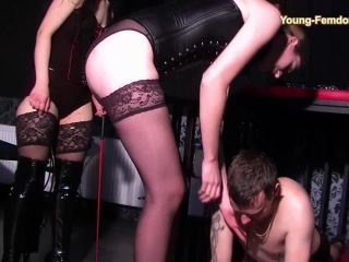 Training – YOUNG-FEMDOM- Brutal German Girls – The woman with the gy – Goddess Jet…
