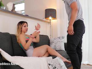 Porn online Goddess Alexa Divina - Pleasing my Bratty Ass femdom