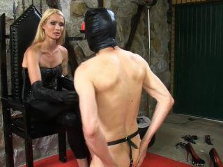 Ball Torture – SADO LADIES Femdom Clips – Tortured With Spiked Heels – Empress Victoria