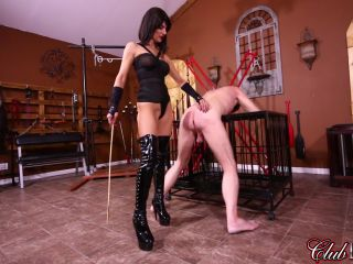 Whipping – Cruel Unusual FemDom – Arena Rome Severe Caning