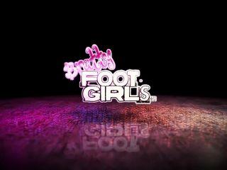 Interracial Domination – Bratty Foot Girls – Reina & Ari – Smell our rank soles