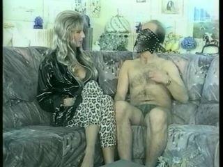 Masked Man Has Blond Suck His Stiff Dick