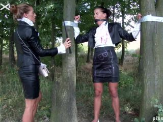 Cute Brunette Made A Slave And Pissed On [FullHD 1080P] - Screenshot 6