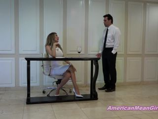 THE MEAN GIRLS  Get In Here Office Boy. Starring Goddess Brooke