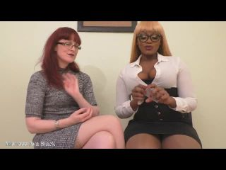 Ava Black - JOI or CBT the cards decide - full clip