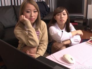 Awesome Fujikawa Reina and Natsuki Marina get freaky with each other V ...