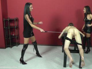 Spanking – Cruel Mistresses – Very Strict Caning – Mistress Tatjana and Lady Lisa