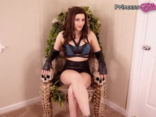 My Little Princess Ellie – CONFESS YOUR DESIRES TO YOUR GODDESS' FEET 1080P – ELLIE IDOL