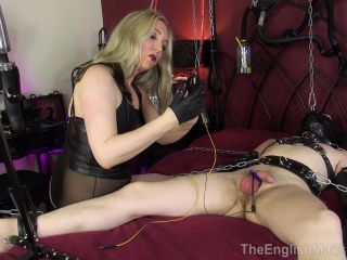 The English Mansion – Mistress Sidonia – Chained To Her Bed Pt2 – Part 1 – Electric – Bondage Male, Female Domination