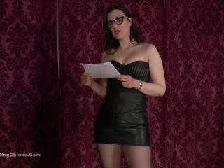 ballbustingchicks  mistress victoria valente  treatment for voyeurism  stomping