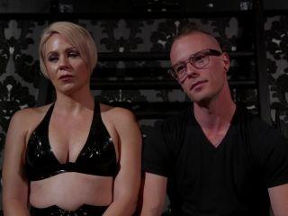 Divine Bitches – Helena Locke - Locked and Loaded - Helena Locke drives Jessie Sparkles to the edge - Hot Femdom on fetish porn snot fetish porn