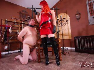 clubdom  lady karma  degraded ashtray  toilet slave training