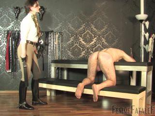 Femme Fatale Films – Marathon Corporal Punishment – Part 2 – Lady Victoria Valente – Femdom Spanking – Boots, Spanked - boots - femdom porn dutch femdom