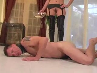 Tormenting the male bitch