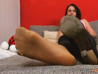Bare feet Sniffing & Shoes & Nylons & Socks 1 280 Kristyna P.