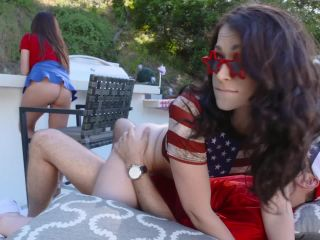 Ariella Ferrera & Jennifer Jacobs in Independence Day Pussy Play