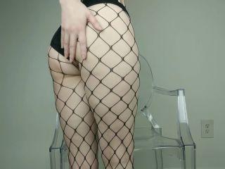 Porn online Nylon feet – Fishnets Tease