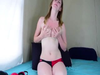 Amateurs - Teens Hairy Pussy Ravished By A Huge Black Dildo