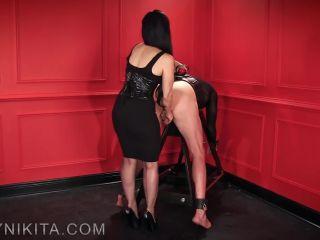 Mistress Nikita FemDom Videos  Obey Nikita  Gagged & Smacked [PADDLING]