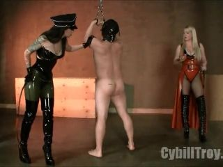 Double Whipping – Cybill Troy FemDom Anti-Sex League – No Safewords, No Salvation – No Mercy Whipping by Cybill Troy & Lexi Sindel