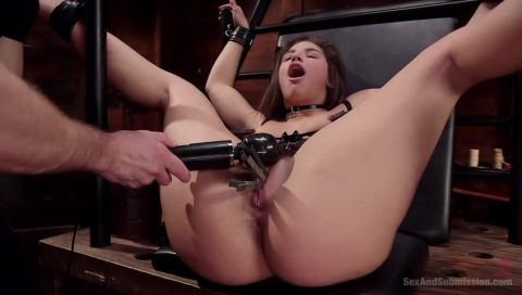 Abella's Deep Anal Submission, Scene 1