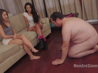 Feet Domination – Men Are Slaves – My Friend From Florida, Part 1 – Jennifer and Alex
